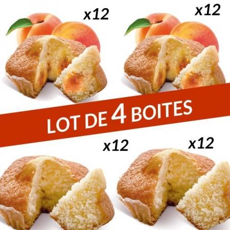 Lot 4 boites Quatre-Quarts