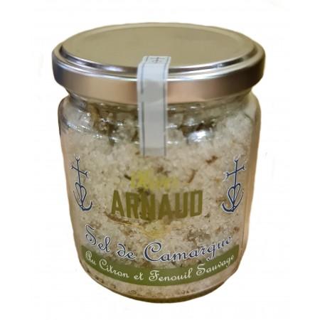 Sel de Camargue au Citron et Fenouil Sauvage