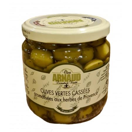 Olives Vertes Cassées