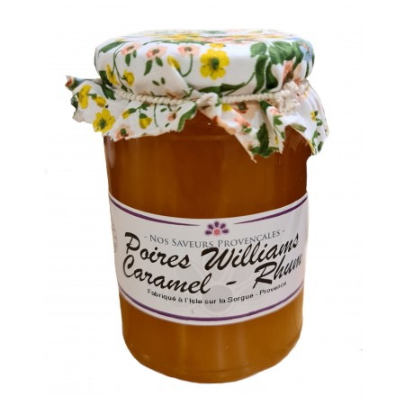 Confiture Poire Williams