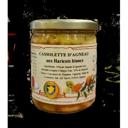 Cassolette d'Agneau aux haricots blancs